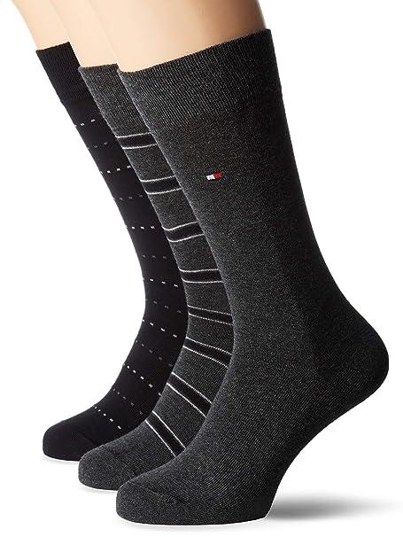 Tommy Hilfiger Calcetines de Hombre, 3er Pack: Amazon.es: Ropa y accesorios