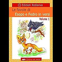 Le favole di Esopo e Fedro in versi - Volume 1 (Nel vento) (Italian Edition) book cover