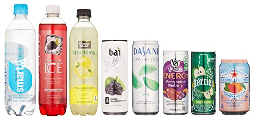 Refreshing Drinks Sample Box, 8 or more items ($9.99 credit on select products with purchase)