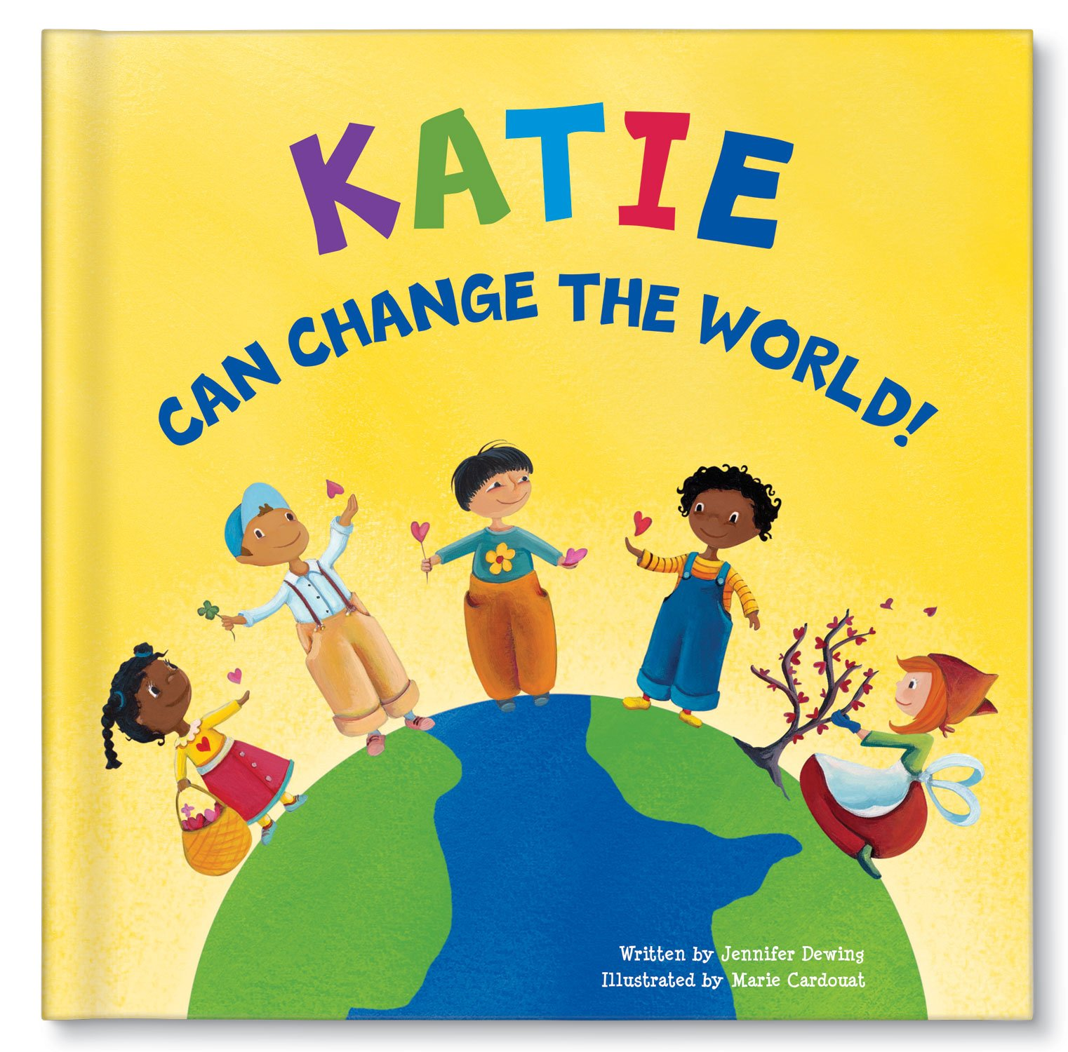 I Can Change The World Personalized Custom Name Book: I See Me!