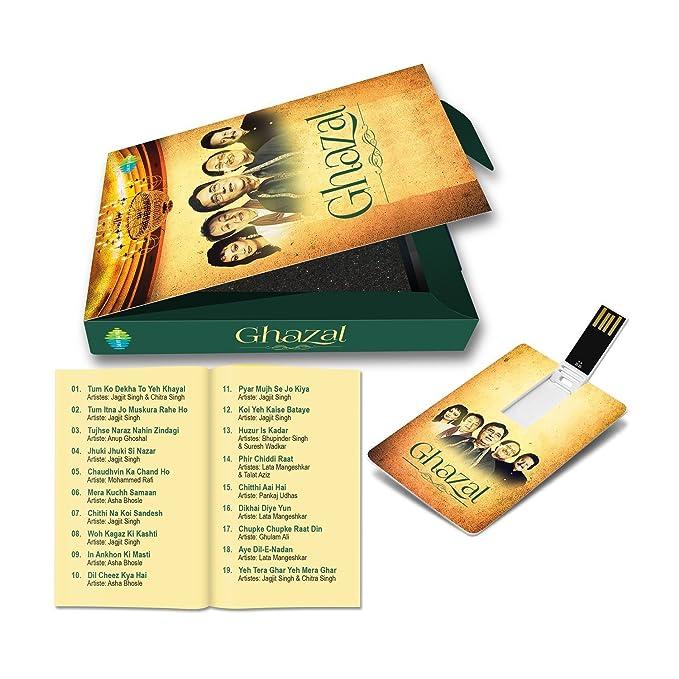Music Card: Ghazal - 320 Kbps MP3 Audio (4 GB)