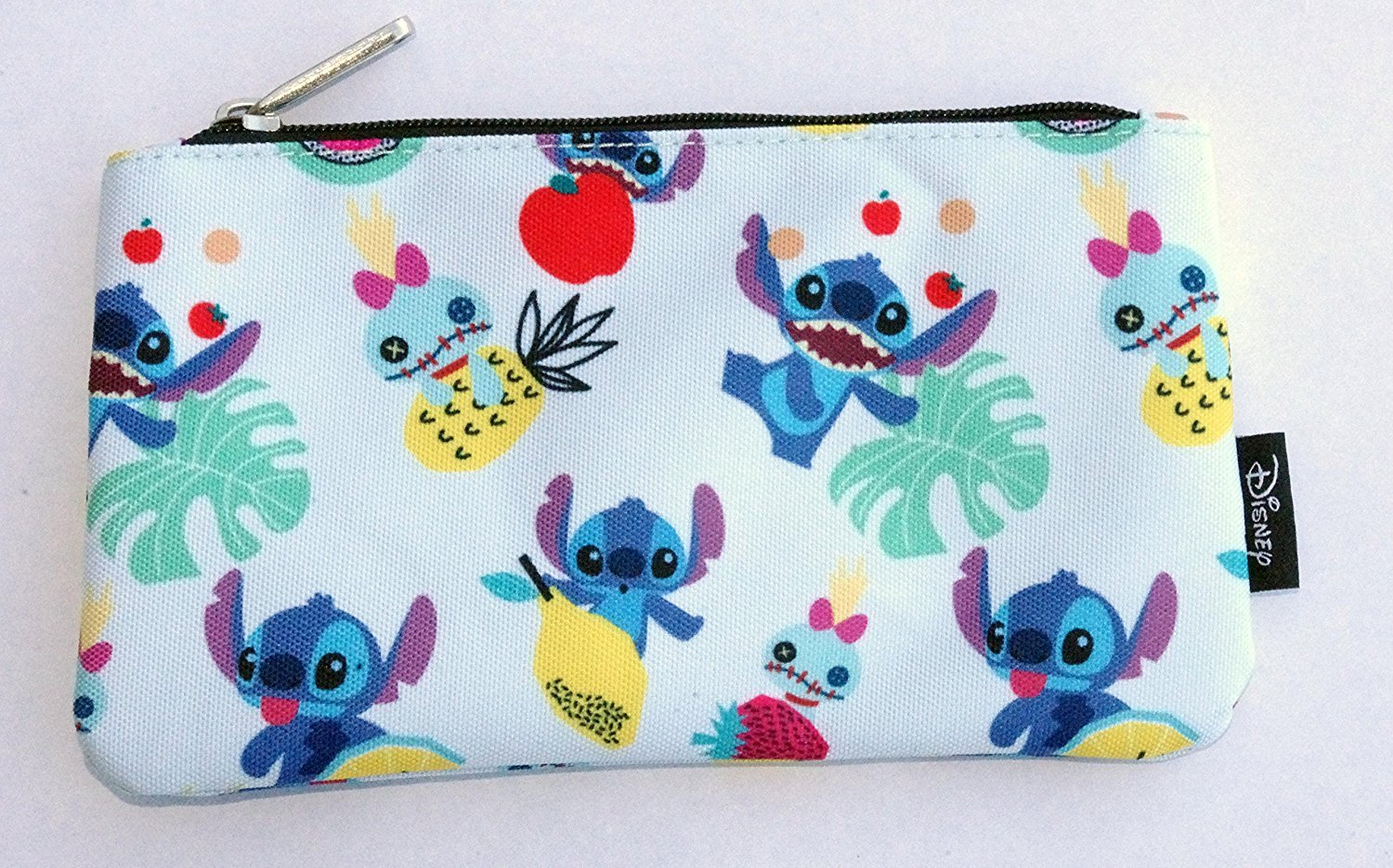 Loungefly Stitch Scrump Fruit AOP Pencil Case by Loungefly