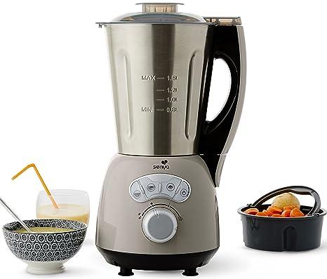 Senya licuadora calefacción acero inoxidable Cook y Ice Taupe: Amazon.es: Hogar