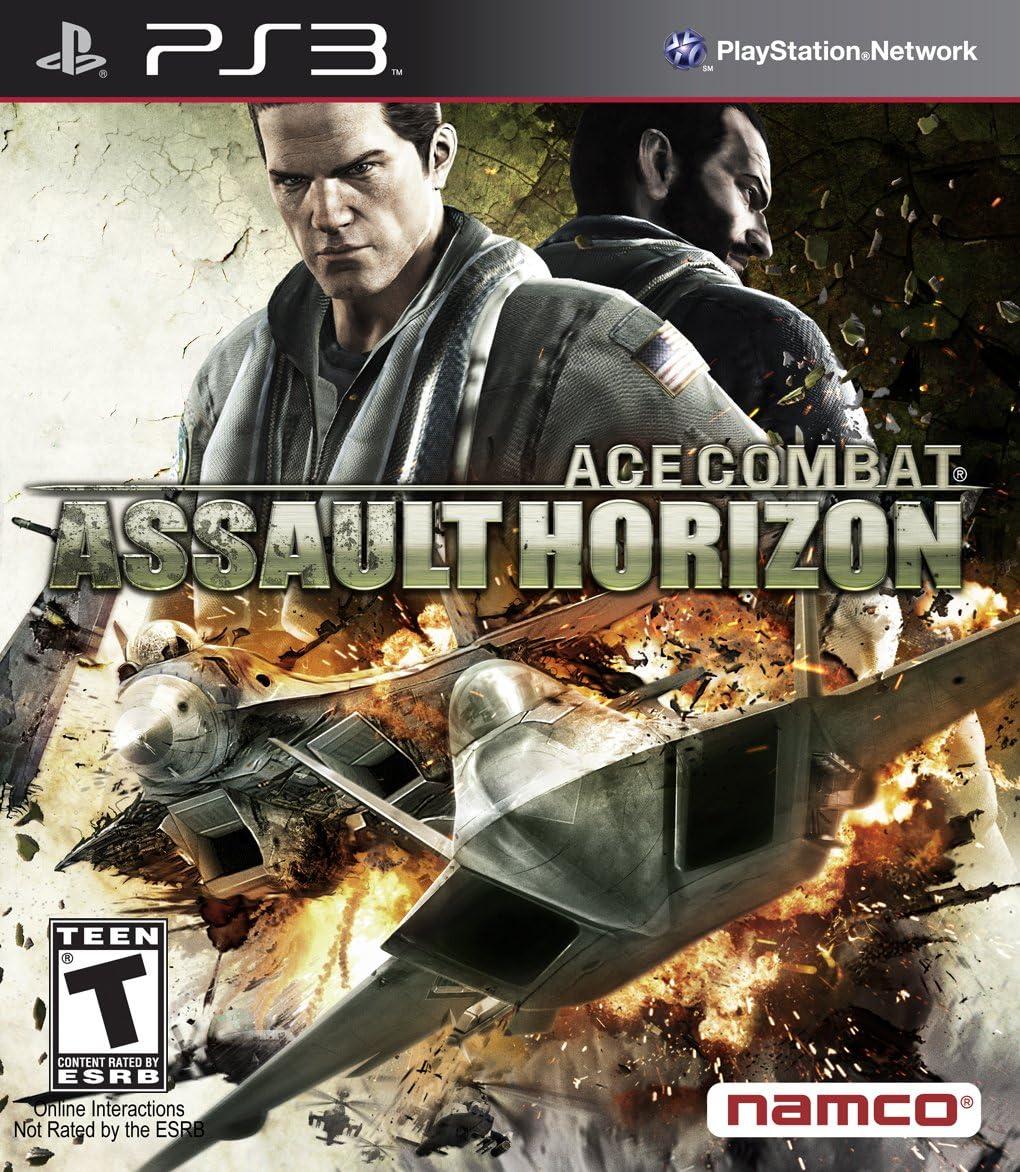 Namco Bandai Games Ace Combat: Assault Horizon, PS3 PlayStation 3 Inglés vídeo - Juego (PS3, PlayStation 3, Simulación, Modo multijugador, T (Teen)): Amazon.es: Videojuegos