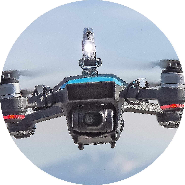 Roboterwerk Selfie Spark: LED iluminación para DJI Spark - 45 ...