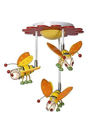 Lucide 77164/03/99 - Lámpara de techo infantil, diseño de ...