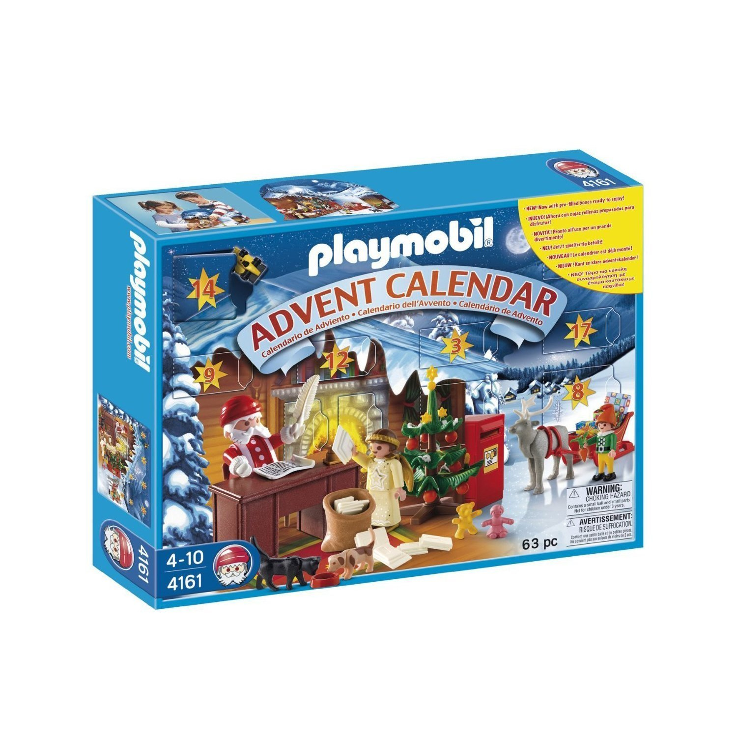Playmobil 4161 Advent Calendar Christmas Post Office by Playmobil