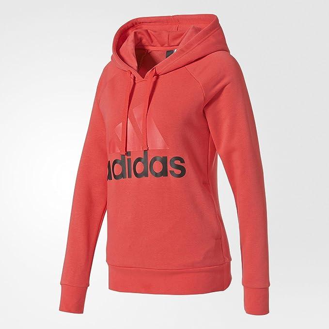 Adidas es Sudadera Ess Ropa S97082 Amazon Accesorios Rosa Lin Y SdqdwCO