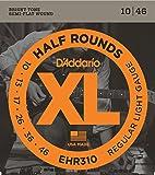 D'Addario 达达里奥 XL Half Round EHR310 10-46 通常款电吉他弦