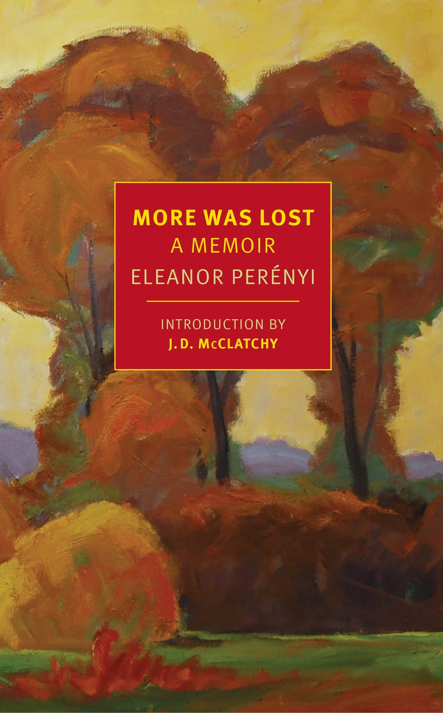 More Was Lost: A Memoir (New York Review Books Classics) pdf epub
