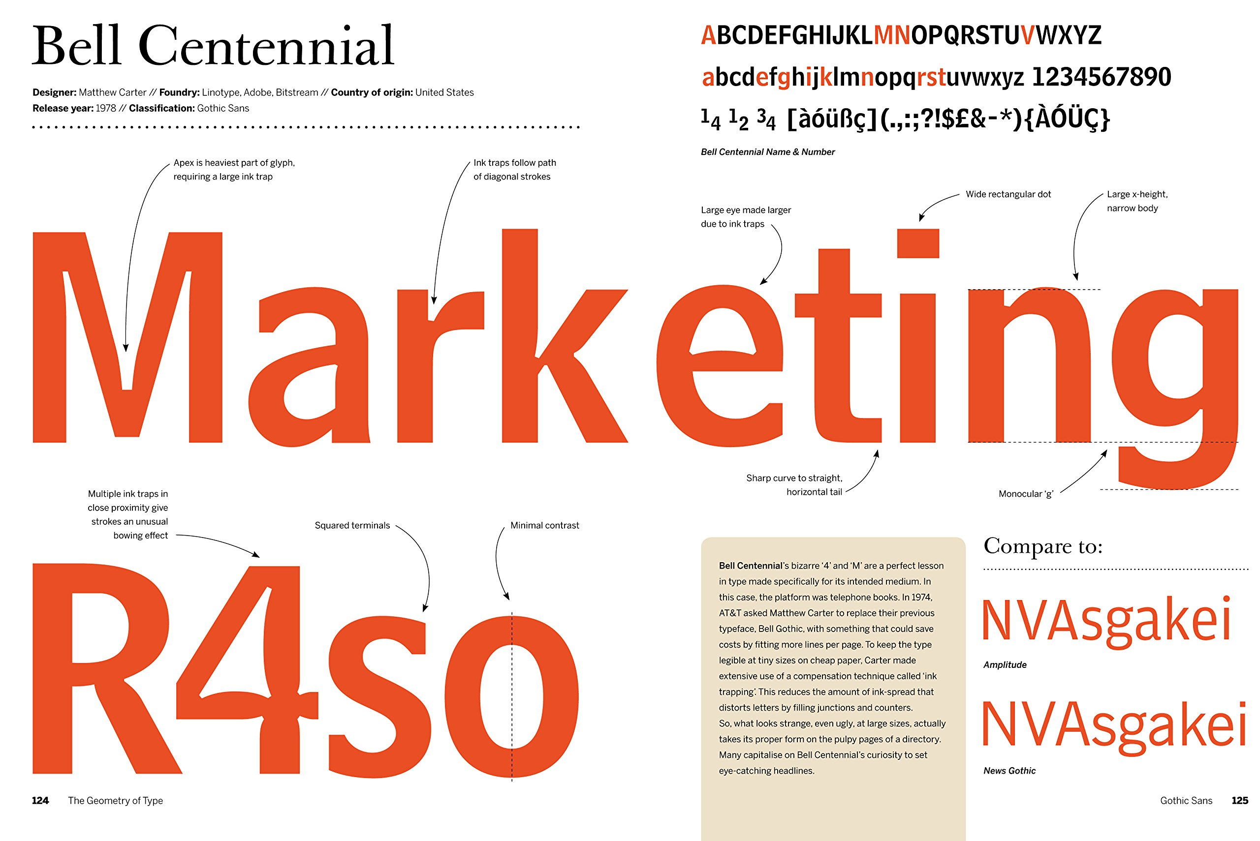 The Geometry of Type: The Anatomy of 100 Essential Typefaces ...
