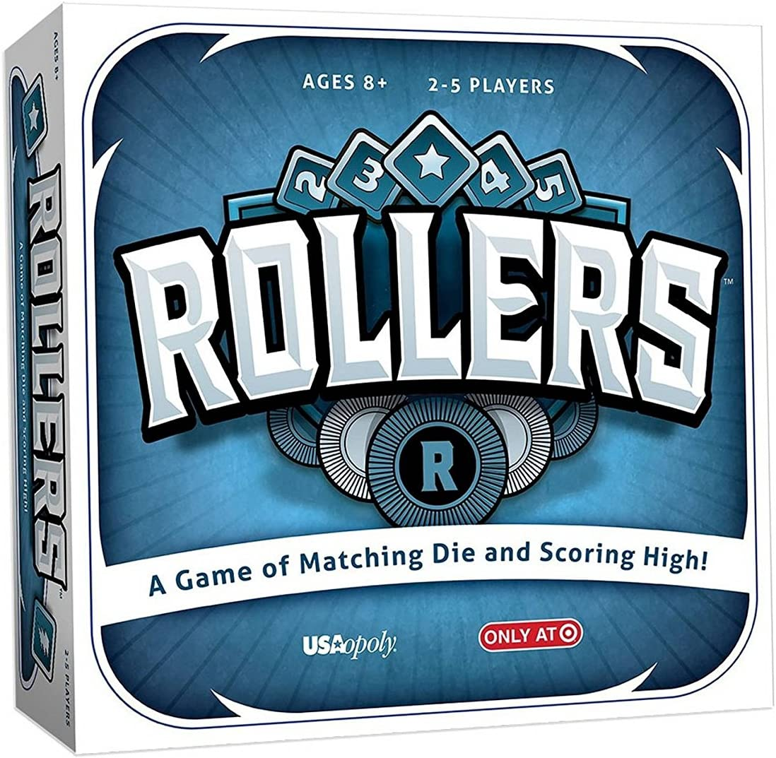 Rollers Board Game by USAopoly A Game of matching Die New in sealed box