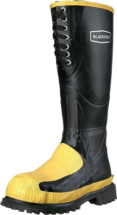 LaCrosse Mens 16 Meta-Pac Black Met//ST Work Boot