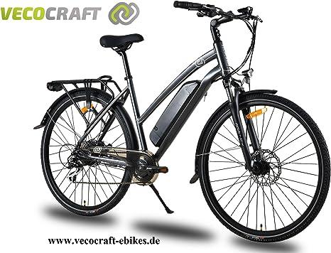 VecoCraft Athena 8 bicicleta eléctrica, mujer, Trekking Bike, E ...