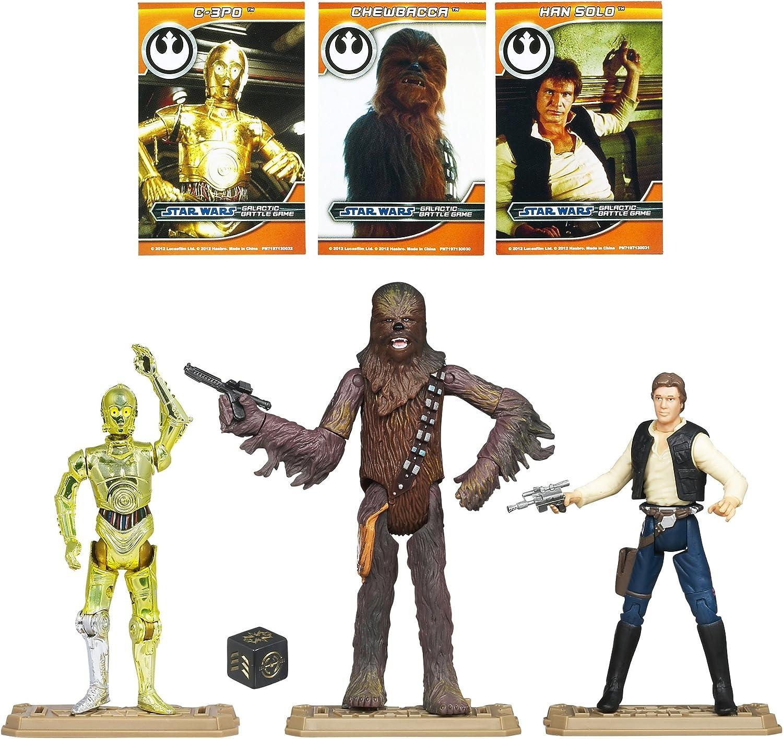 STAR WARS Hasbro Battle Pack Wave 1 2012 - Pack Rebel Heroes ...