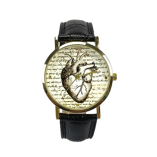 "Woodstock Zambon - Reloj ""Corazón Vintage"""