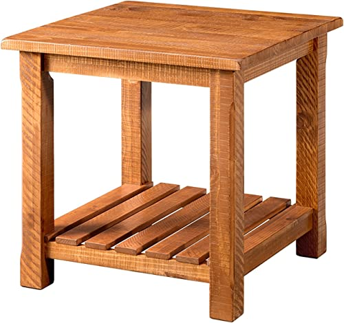 Martin Svensson Home End Table, Honey Tobacco