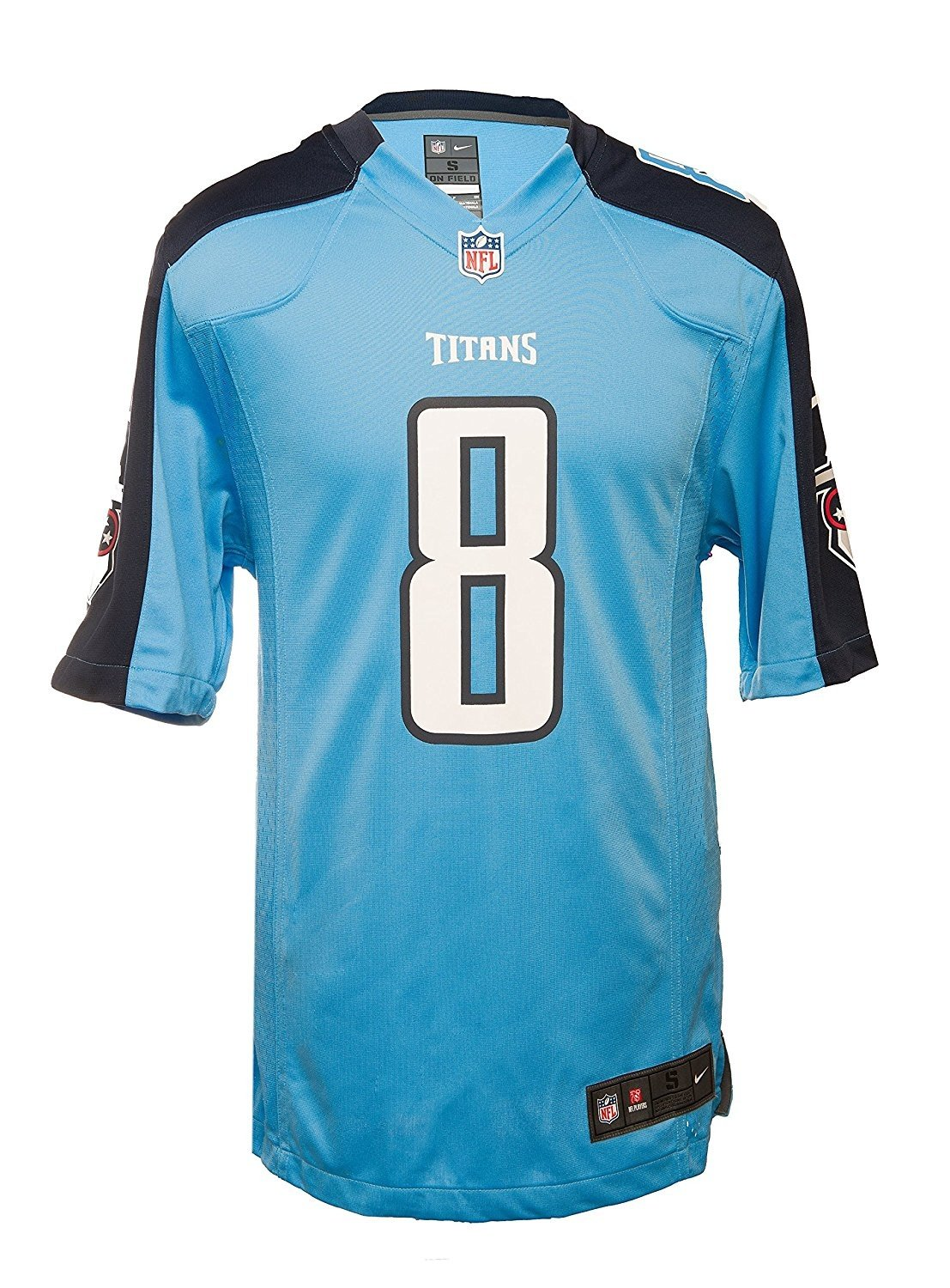 competitive price e7d00 a7487 Nike Men's Tennessee Titans Marcus Mariota NFL Jersey - Blue/Nacy