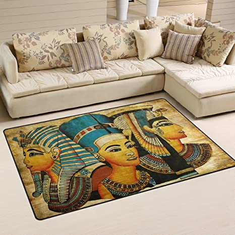 Gentil Yochoice Non Slip Area Rugs Home Decor, Vintage Ancient Egyptian Parchment  Floor Mat Living