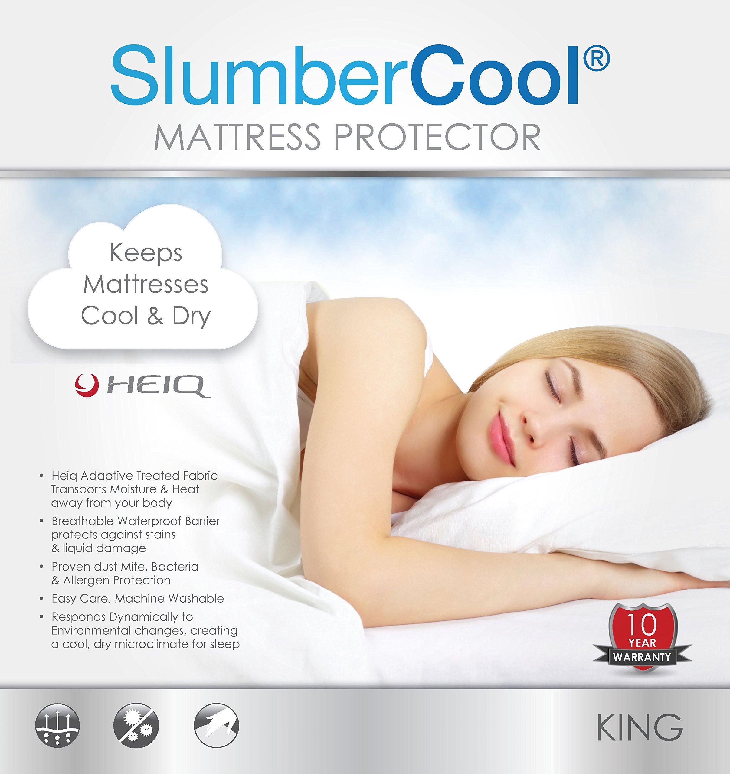 Slumbercool Mattress Protector, King