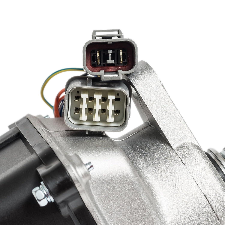 Ignition Distributor For 92 95 Honda Acura Integra B16a B16a2 Wiring Diagram V Tec Fits Td 44u Td44u Automotive