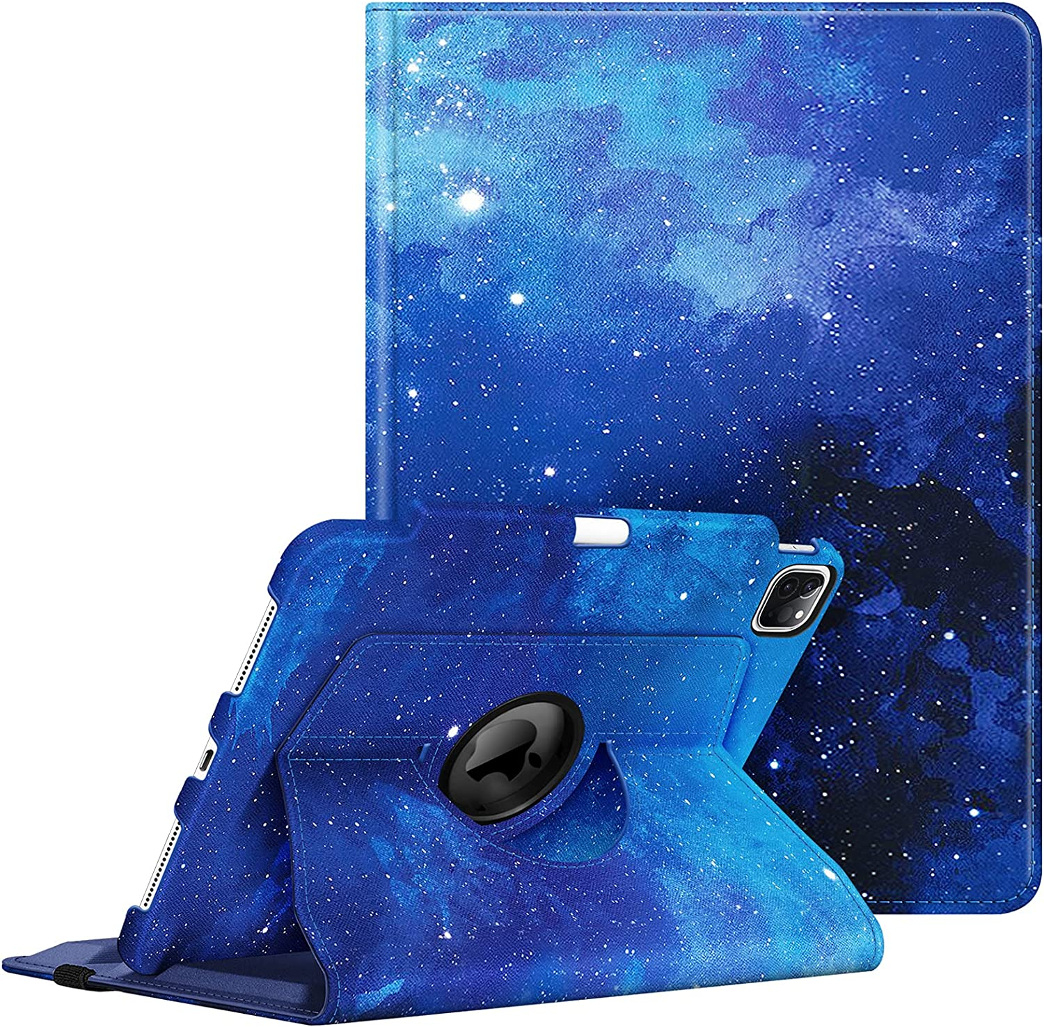 Fintie Rotating Case for iPad Pro 11-inch (3rd Generation) 2021 - 360 Degree Swiveling Stand Cover w/Pencil Holder, Auto Wake / Sleep, Also Fit iPad Pro 11