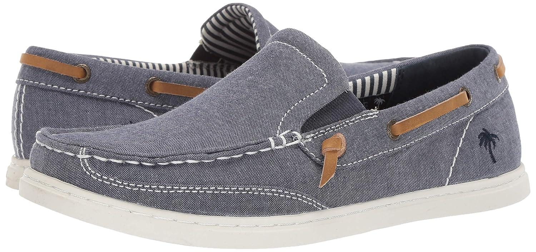4add1951dd9fa Amazon.com   Margaritaville Men's Dock Chambray Slip on Canvas Boat Shoe    Loafers & Slip-Ons