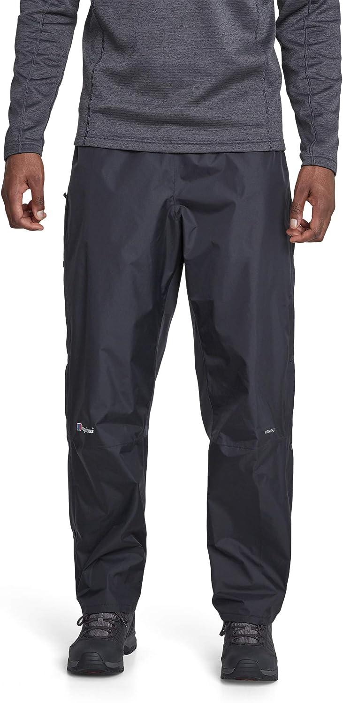 Pantalones para Hombre tama/ño S Berghaus Deluge Color Negro
