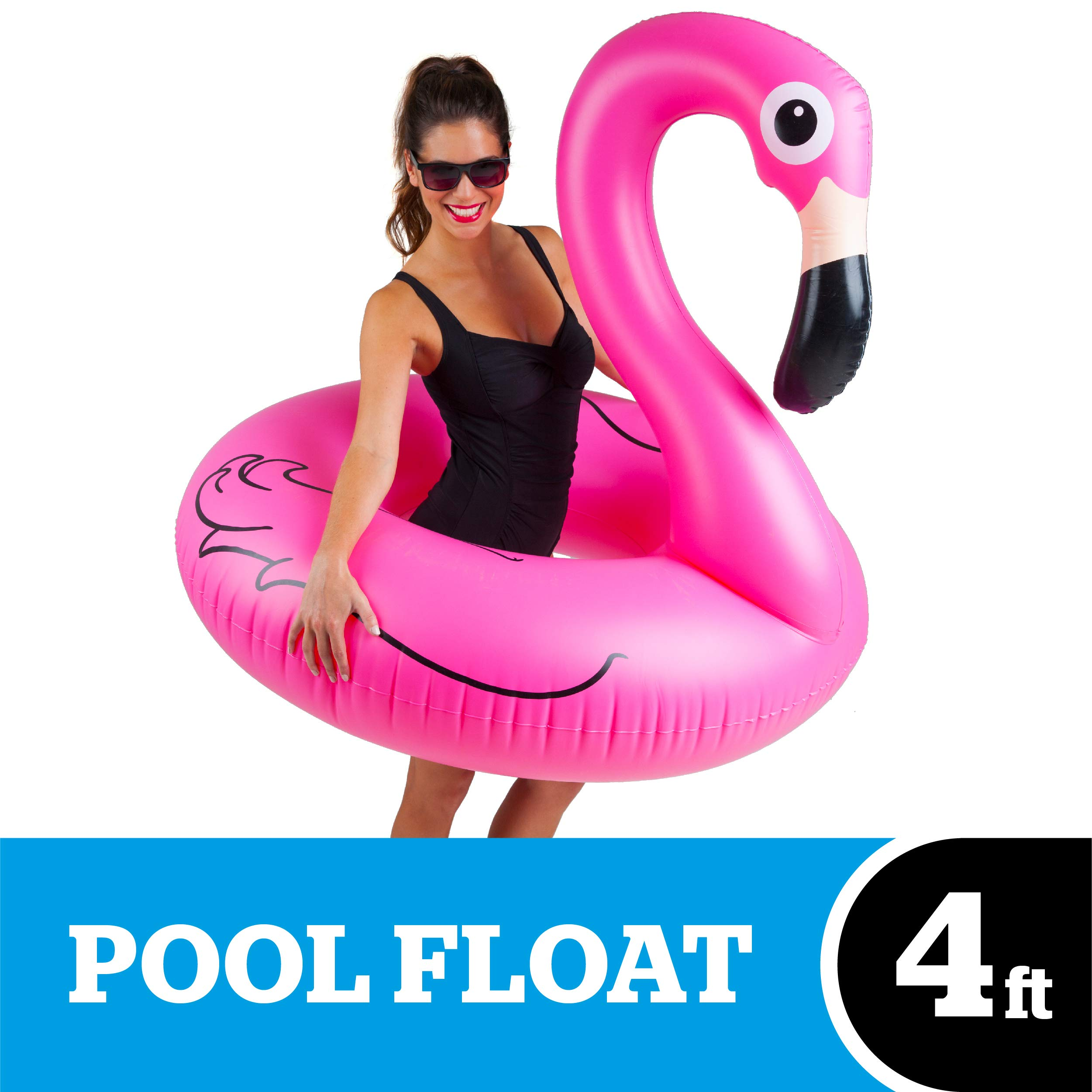 Floats & Rafts Yard, Garden & Outdoor Living The Best Cool Flamingo Pool Float With Shades Pink Pool Toys Kids Adults Terrific Value