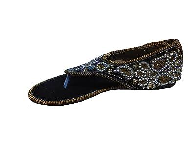 9ab7c7161 Port Women's Rajasthani Jutti (Size 9 Ind/UK): Buy Online at Low ...