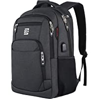 Laptop Backpack,Business Travel Anti Theft Slim Durable Laptops Backpack with USB Charging Port,Water Resistant College…
