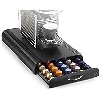 Cep 2230050011 23005 Koffiecapsuledispenser Met 1 Lade, Kunststof, Zwart, 23,4 X 32,7 X 6 Cm
