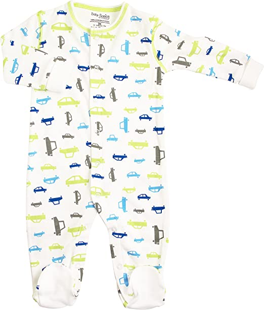 Kushies Cotton Baby Pajamas Girls Footed Sleeper Footie Sleep N Play One Piece