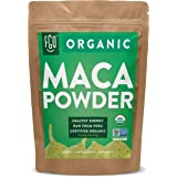 Organic Peruvian Maca Root Powder | Perfect for Smoothies, Baking, Energy | Raw From Peru | Non-GMO, USDA Organic | 16oz Rese