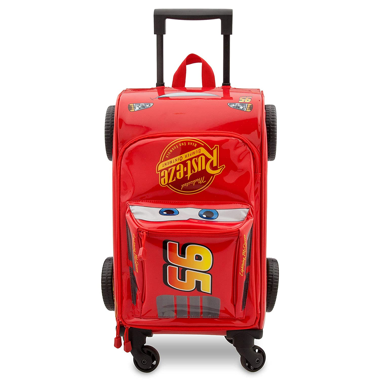 Disney Lightning McQueen Rolling Luggage - Cars 3 Red427243833880