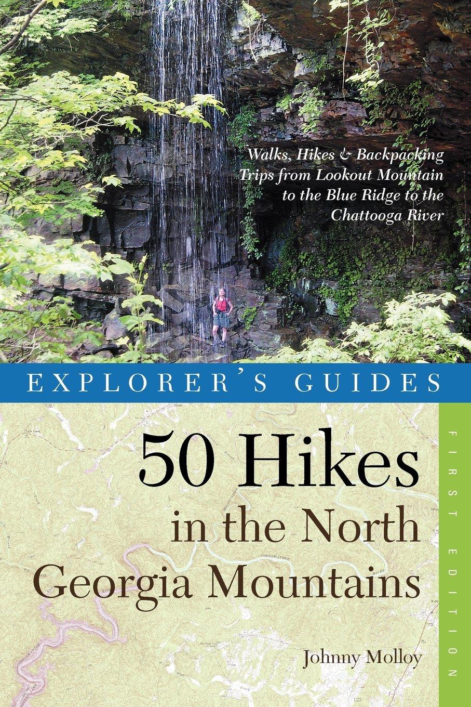 Explorers Guide Hikes Georgia Mountains product image