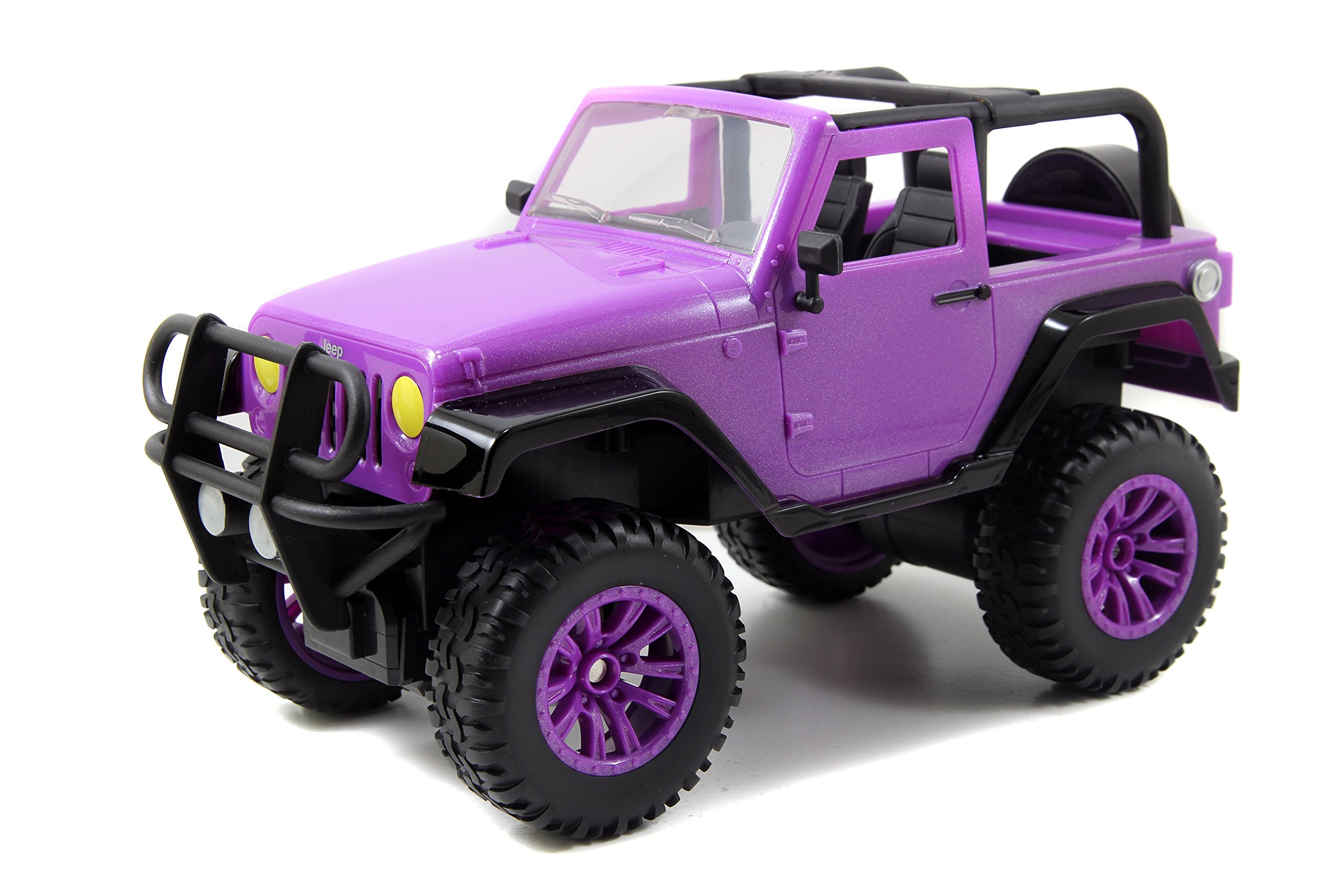 Jada Toys GIRLMAZING Big Foot Jeep R/C Vehicle (1:16 Scale), Purple by Jada Toys (Image #3)