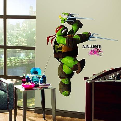 RoomMates Pegatina gigante con las Tortugas Ninja Carácter ...