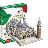 Toyland - Maqueta de la Plaza San Marco de Venecia, puzle en 3D, referencia MC209H
