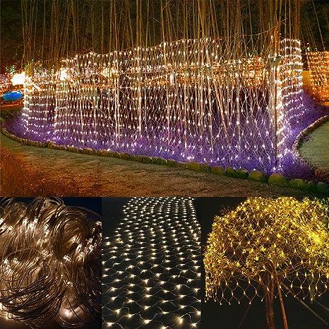 07e29a7a041 LED Net Lights USB 5V Led Luces de cadena Fiesta al aire libre Navidad  Navidad Bodas