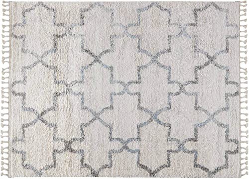 Madison Park Vigo Geo Turkish Shag Woven Area Rugs