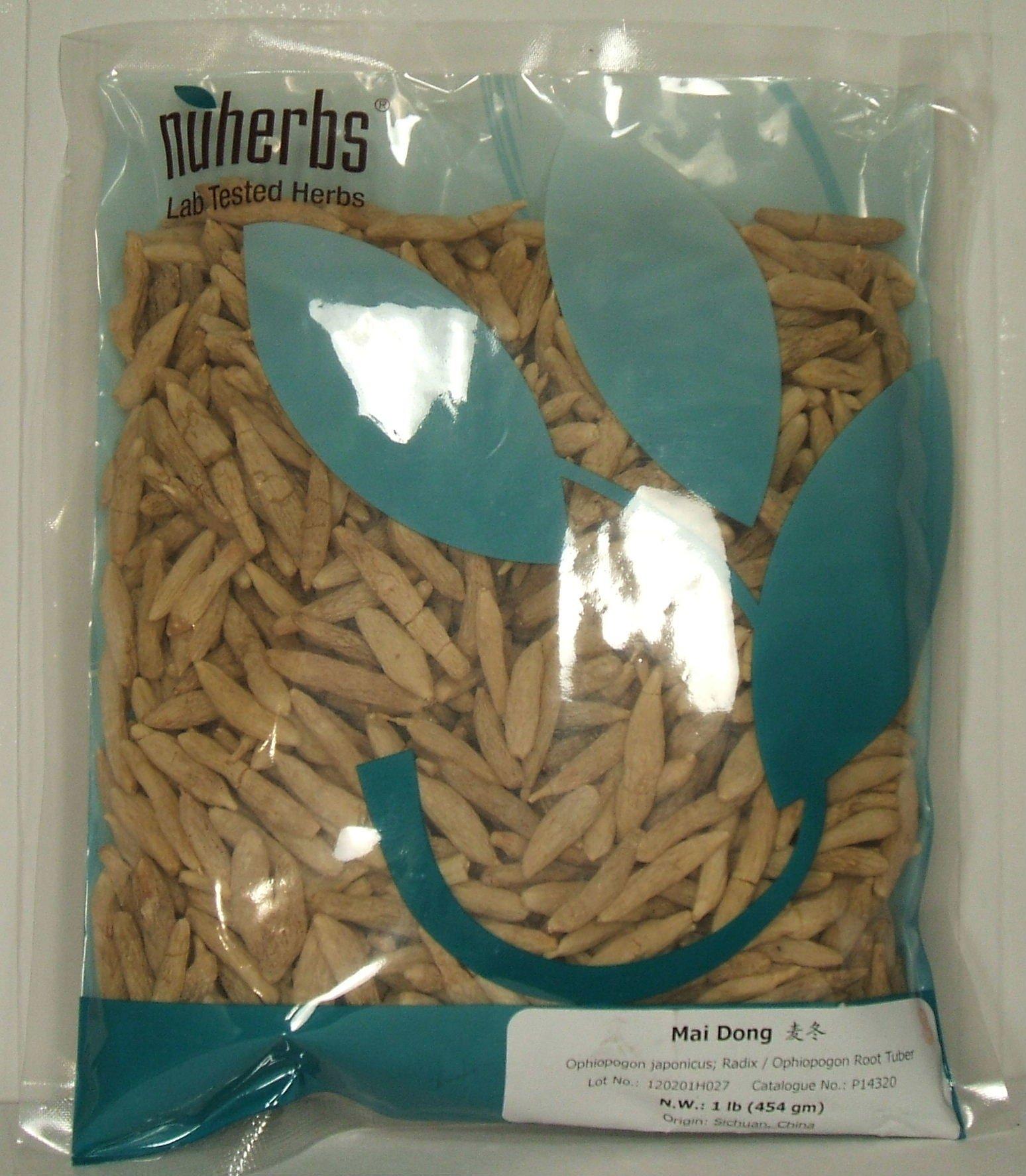 Ophiopogon Root Tuber / Mai Men Dong, 1lb, 454g Bulk Herb