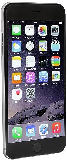 Apple iPhone 6 Plus 64 GB, Gris: Amazon com mx: Electrónicos
