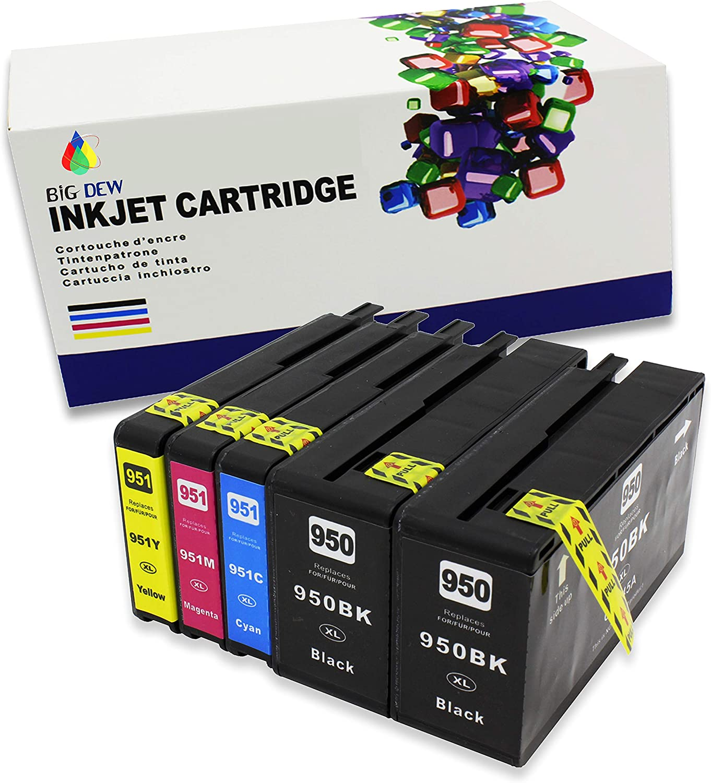 Cartuchos para HP 950 951 950XL 951XL.......Pack 5un