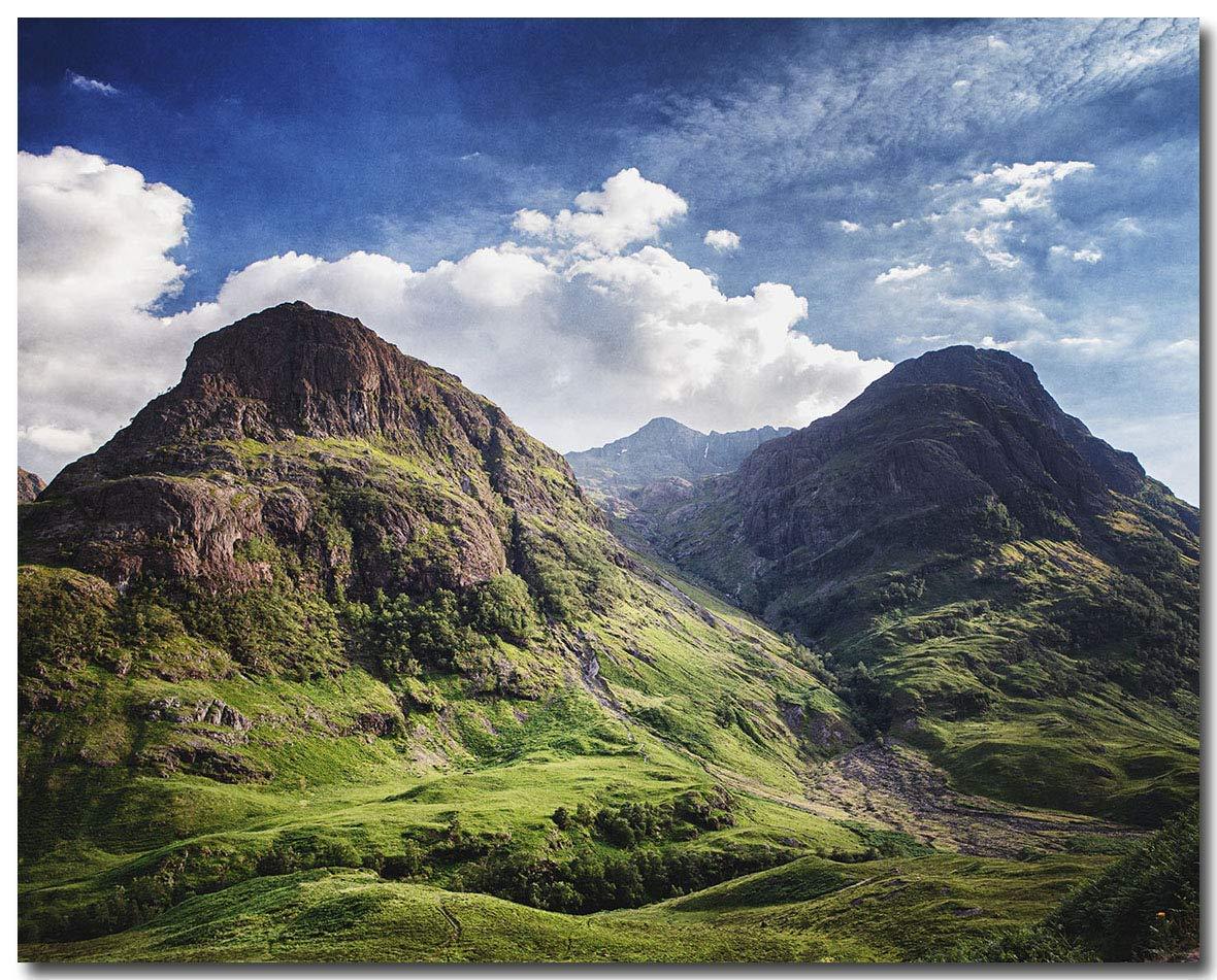 Amazon Com Scotland Mountain Landscape Wall Art Print Not Framed Scottish Highlands Decor 8x10 11x14 16x20 Fbml Handmade
