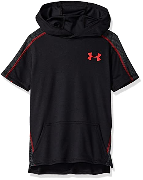 4c344bb15 Amazon.com: Under Armour Boys' Tech Short Sleeve Hoodie: Clothing