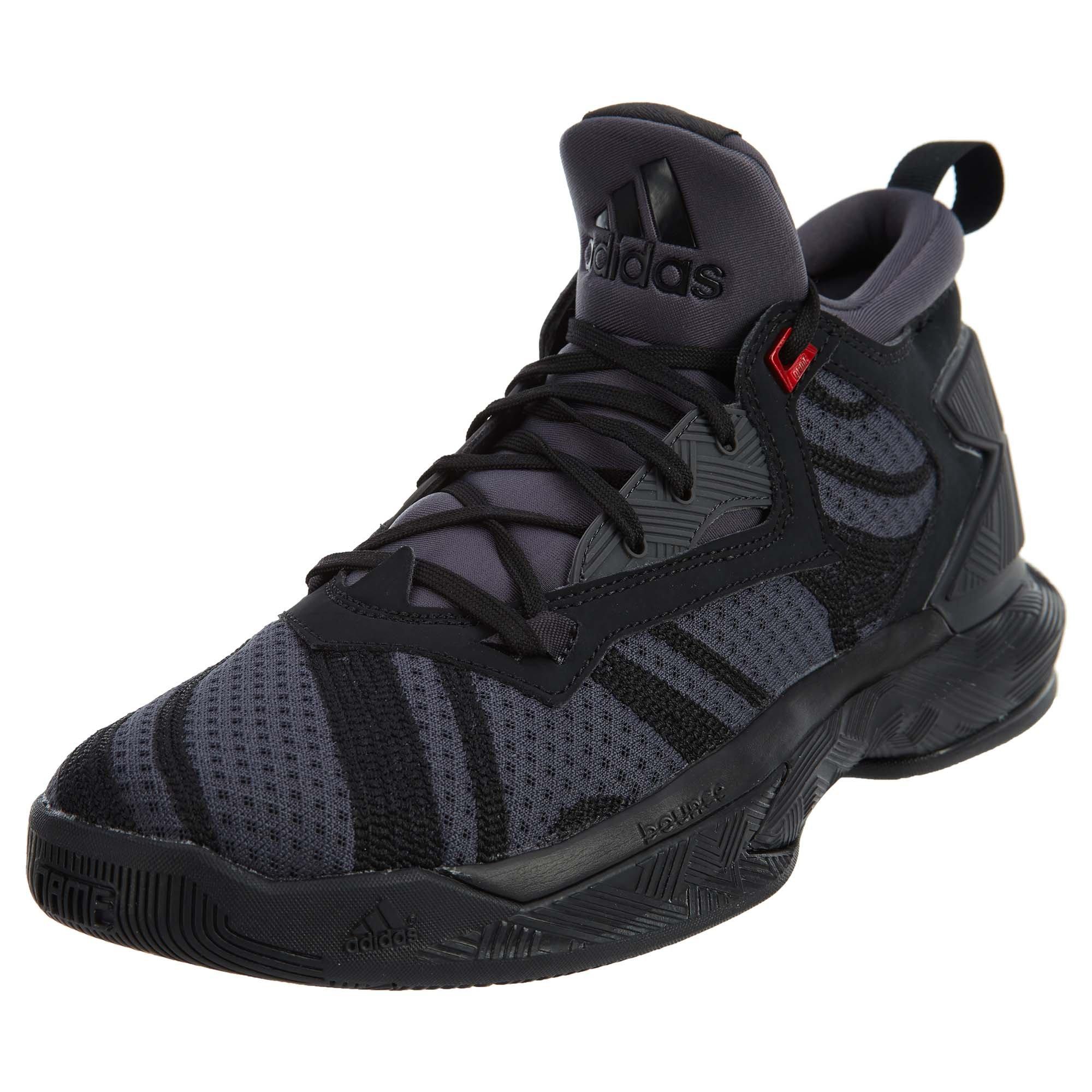 size 40 967c0 c36f7 Galleon - Adidas D Lillard 2 Basketball Shoe - Black - Mens - 7.5