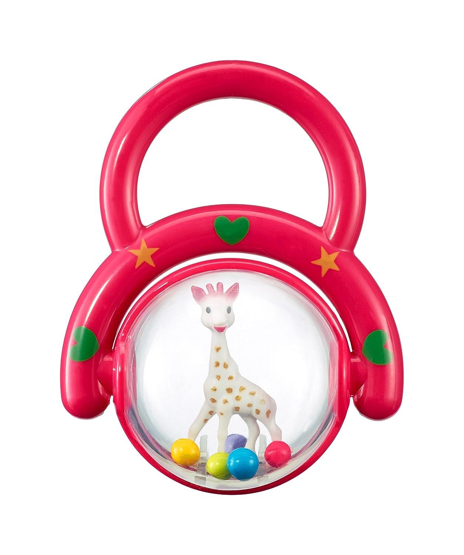 Vulli Sonajero con asa diseño Sophie la jirafa surtido de colores