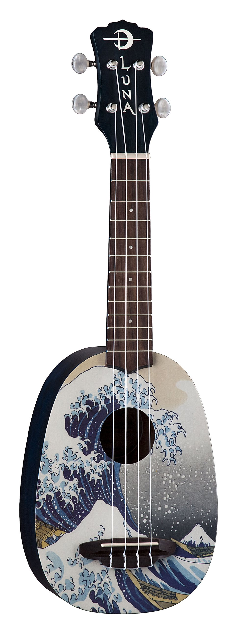 Luna Artistic Series Great Wave Soprano Ukulele by Luna Guitars (Image #1)