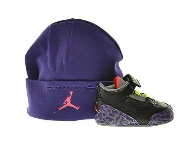 sale retailer caa30 711f9 Amazon.com   Jordan 3 Retro (GP) Infants Shoes Gift Pack Black Atomic  Red-Cement Grey-Violet 574416-039 (4 M US)   Sneakers